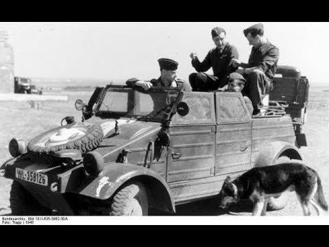 20 Amazing Wartime Images of The Volkswagen Kubelwagen