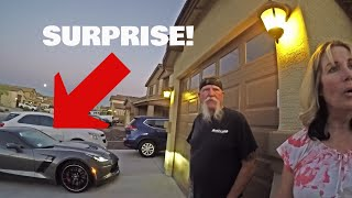 SURPRISING PARENTS WITH DREAM CAR!! (650 HP Z06 CORVETTE)*Emotional*