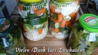 Türkische eingelegte Gemüse-Karisik tursu