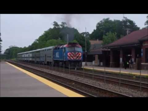 Metra trains in the Chicago Area July 2015