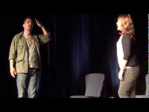 Improv with ARCHER's Lucky Yates and Amber Nash at Geek Media Expo vol 5 (part 2)