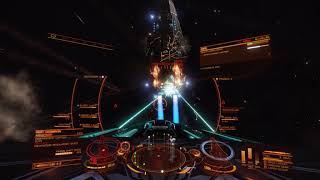 Elite Dangerous 3.3 beta: winning high intensity conflict zone