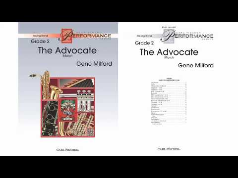The Advocate (YPS206) by Gene Milford