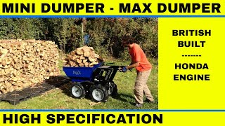 Muck Truck Max Mini Dumper Power Barrow Videoat Work Power Wheelbarrow