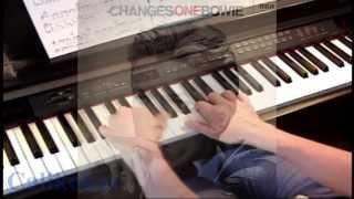 Changes - David Bowie - Piano