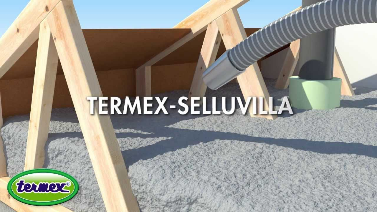 Termex - Vapaa yläpohjapuhallus