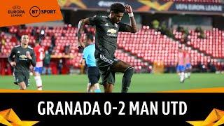 Granada vs Manchester United (0-2) | Rashford Kickstarts Win In Spain! | Europa League Highlights