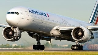 Close-up Landings at Paris CDG - Boeing 787, 777, Airbus A380 & More!