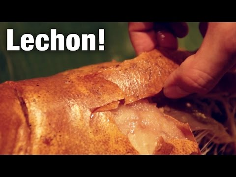 Lechon (Roast Suckling Pig) at Pepita's Kitchen