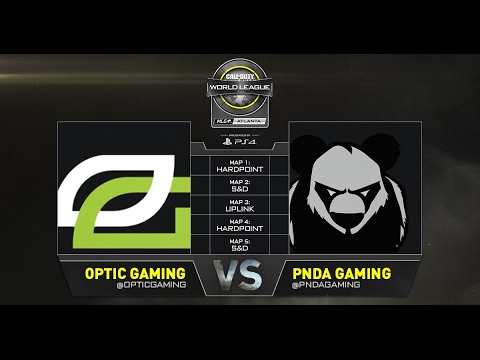 OpTic vs Panda CWL Atlanta Losers Bracket  Game 5