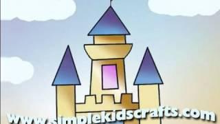 How to draw a Simple Castle - EP