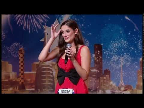 Don't Rain On My Parade - Natasha Hoeberigs (AUSTRALIA'S GOT TALENT)