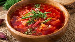 Борщ - пошаговый рецепт. Borsch - a step by step recipe (Russian soup recipe)