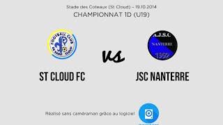 St Cloud FC vs JSC Nanterre - U19 1D