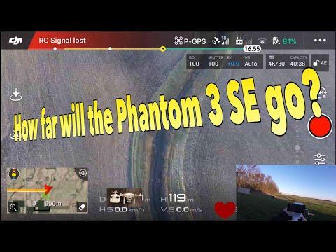 DJI Phantom 3 SE Range Test, Will the Phantom 3 SE make it to 4 kilometers?