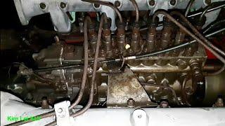 Khám phá hầm máy tàu biển HINO 8,37/Ship engine.