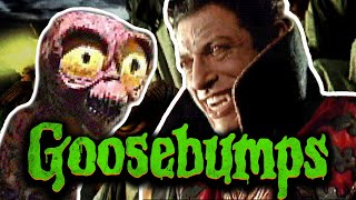 That Time Jeff Goldblum Played Dracula in a Goosebumps Game