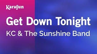 Karaoke Get Down Tonight - KC & The Sunshine Band * Mp3