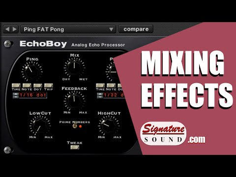 Mixing Effects and Production Techniques for Dance Music