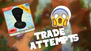 Repeat youtube video Black solid top hat trade attempts!
