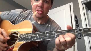 Diamond Rings And Old Barstools - Tim Mcgraw (beginner Guitar Lesson)
