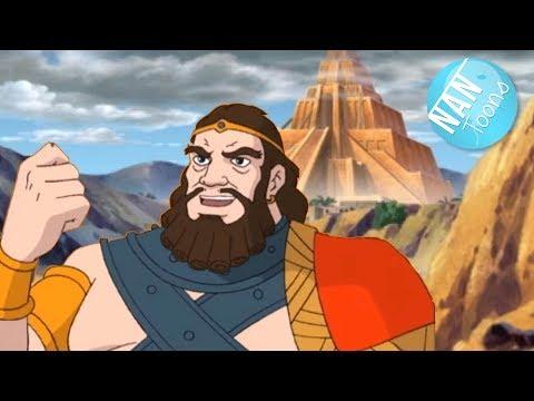 TORRE DE BABEL | Antiguo Testamento | Biblia para niños | Historia biblica | Dibujos animados
