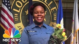 Protesters React After No Officers Are Charged In Breonna Taylor's Death | NBC News NOW