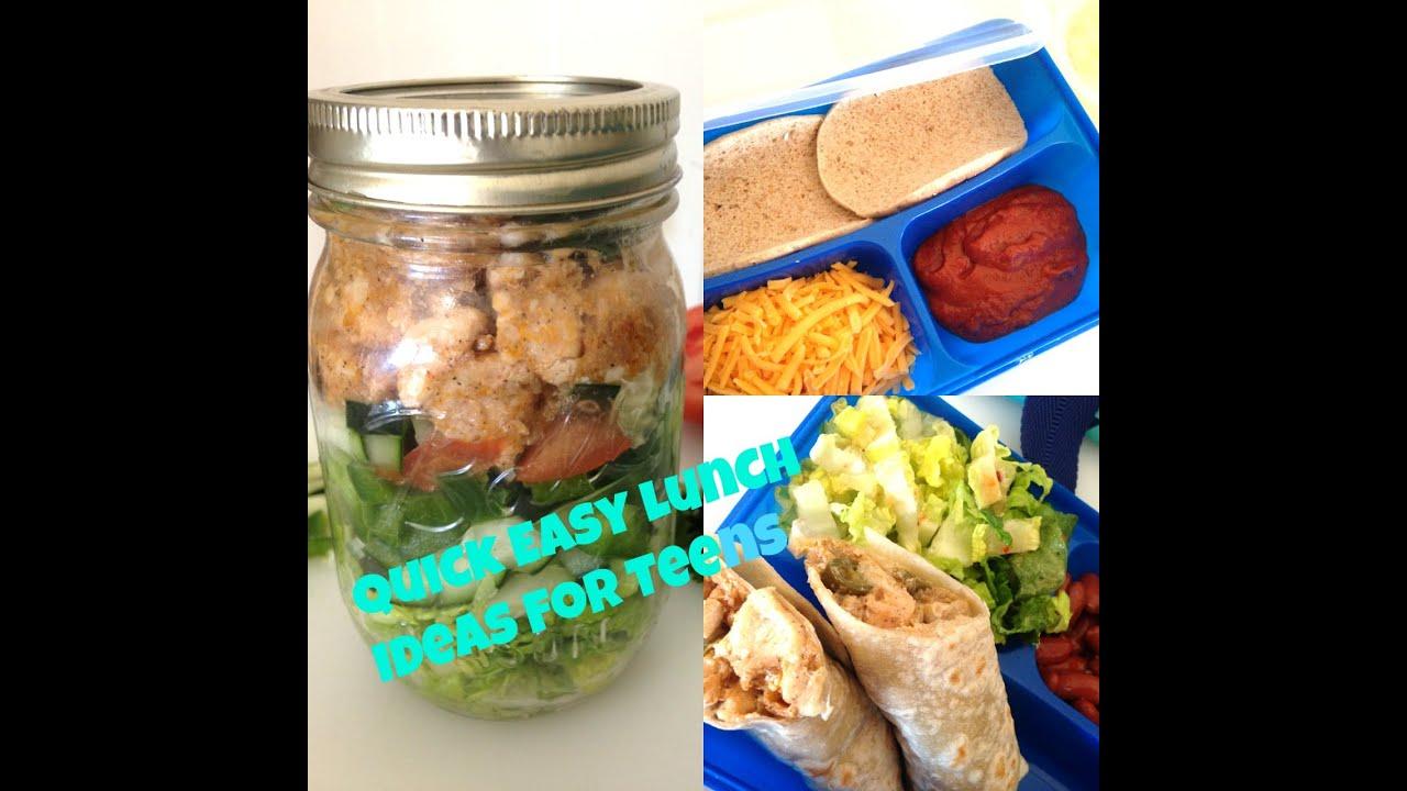 DIY School Lunch Ideas For Teens Nazkitchenfun