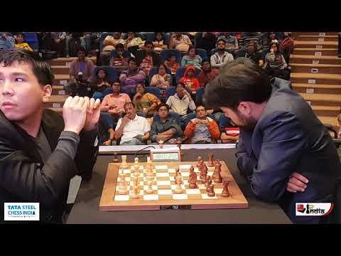 Wesley So vs Hikaru Nakamura | Tata Steel Chess India 2019 Rapid