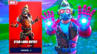 The New STAR LORD SKIN in Fortnite! (AVENGERS)