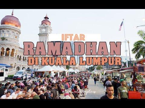 Ngabuburit di Masjid dan Pasar Ramadhan Kuala Lumpur   Malaysia #4