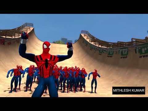 Swag se swagat || Spider man video ||...