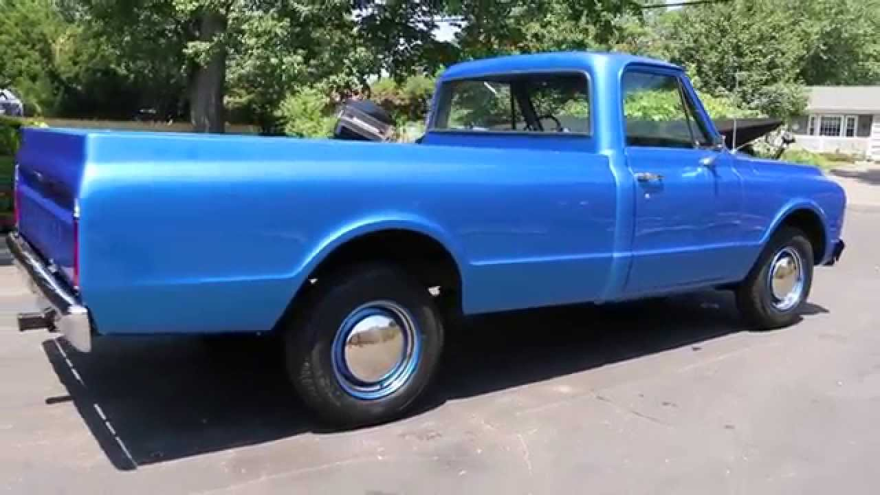 1971 chevrolet c20 pick up for sale 383 stroker w 450hp 700r4 viper 1971 Chevy C20 Truck Parts 1971 chevrolet c20 pick up for sale 383 stroker w 450hp 700r4 viper blue awesome