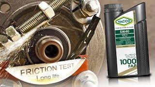 Yacco VX 1000 FAP 5W40 Jak skutecznie olej chroni silnik?