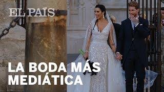 Sergio Ramos y Pilar Rubio celebran su enlace matrimonial en la Catedral de Sevilla