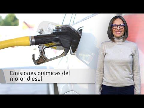 Emisiones químicas del motor diesel