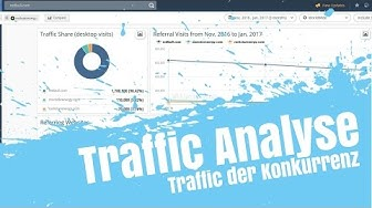 Analyse Website Traffic der Konkurrenz mit Similarweb (Traffic Check Tool)