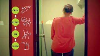 شاهد: طريقة مبتكرة لمساعدة النساء على التبول دون الجلوس على المرحاض…