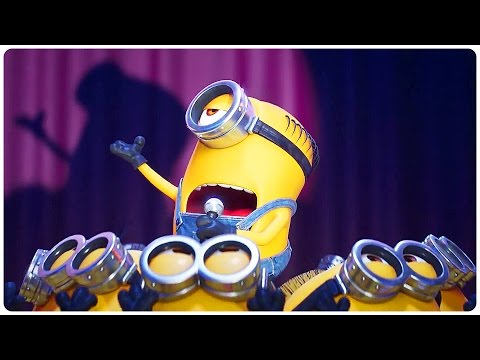"Despicable Me 3 ""Minions Singing"" Trailer (2017) Steve Carell Animated Movie HD"