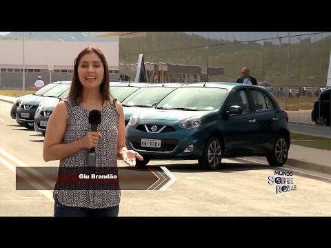 Andamos no Nissan New March 2015
