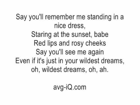 Wildest Dreams By Taylor Swift Acoustic Guitar Instrumental Cover With Onscreen Lyrics Karaoke