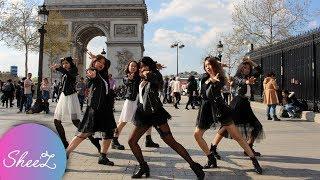[KPOP IN PUBLIC PARIS] (G)I-DLE (여자)아이들 - SENORITA 세뇨리따 Dance Cover