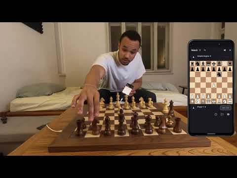 WhitePawn App | Deep Preview on DGT Chess Board