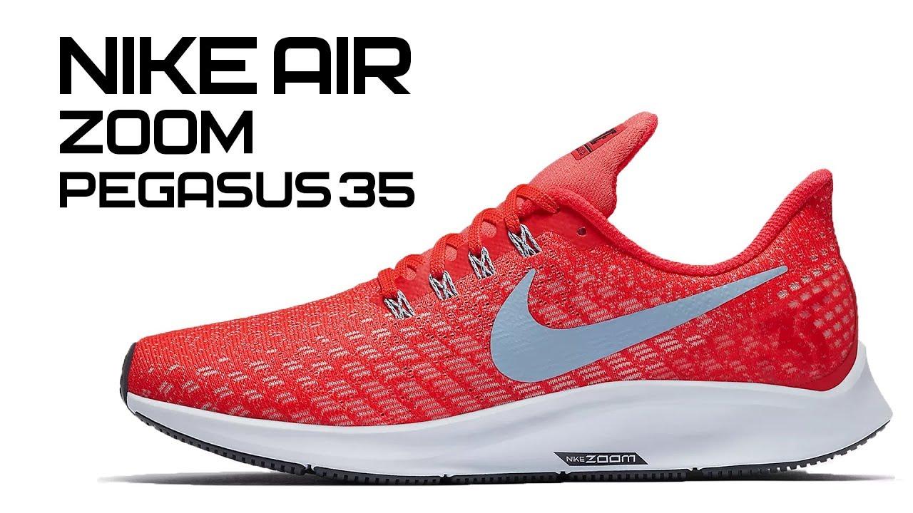2eea1fc7 Обзор кроссовок Nike Air Zoom Pegasus 35 - YouTube