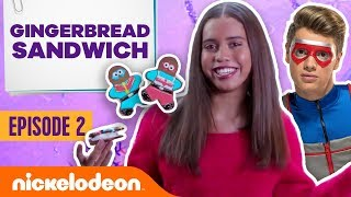Would Kid Danger Eat These Gingerbread Ice Cream Sandwiches? 🍨 Holiday Food Challenge: Ep 2 | Nick