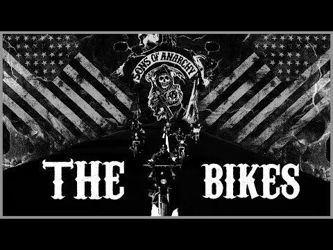 SONS OF ANARCHY - THE BIKES