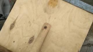 як зробити лопату з фанери
