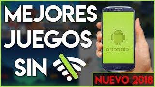 5 Juegos MÁS ADICTIVOS SIN INTERNET | GRATIS en Teléfonos Celulares ANDROID (Sin WiFi 2018)