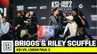 Download Shannon Briggs and Viddal Riley Get Into HEATED Exchange Mp3 and Videos