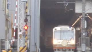 【引退HM付き❗️】静岡鉄道1000形 1001号 普通列車新清水行き 新静岡駅発車‼️(ShizuokaRailways series1000 1001‼️)
